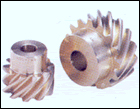 Aluminium-Branze Serew Gears [AM]